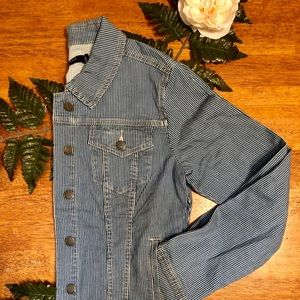 MAX JEANS New With Tag Engineer Striped Jacket